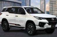 Toyota New Fortuner VRZ TRD